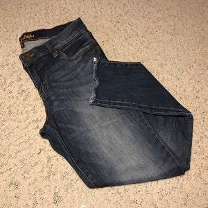 Kut From The Kloth frayed bottom skinny jeans